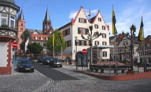 Fahrt nach Oppenheim